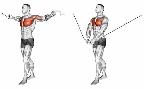 Cable Crossover -Chest Exercise.