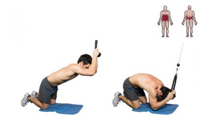 Abdominal Cable Crunch