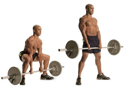 Stiff Leg DeadLift Workout Performance.