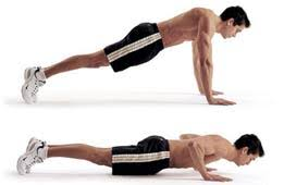 Triceps And Shoulder  Pushups