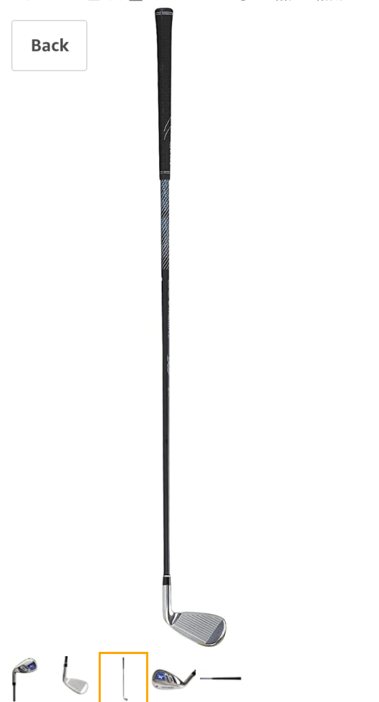 Mazel  Golf Individual Iron  For Men,#7 Lenght 37.5 inch