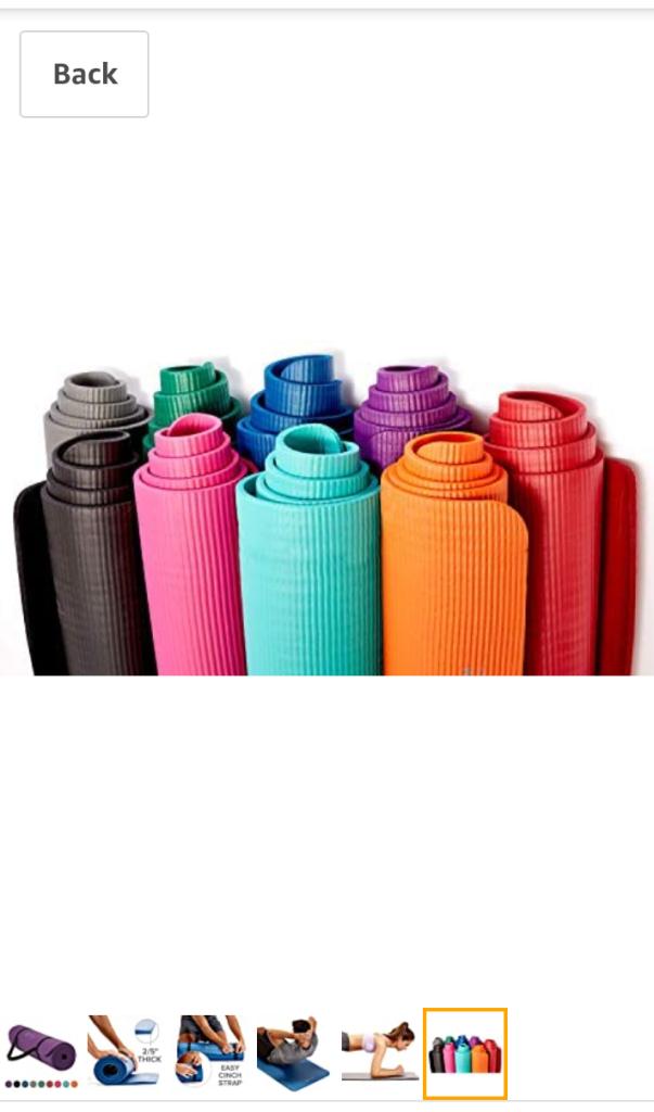 IUGA Fitness Yoga Mat