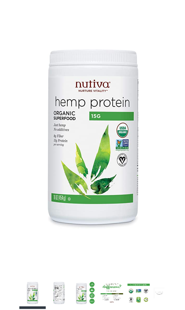Hemp protein - by Nutiva