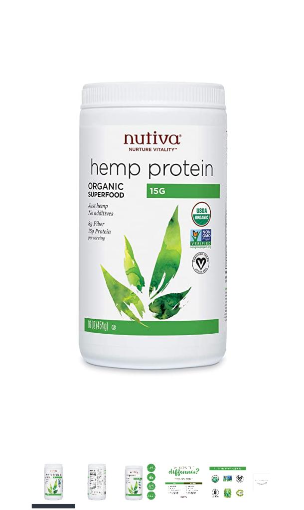 Hemp protein - by Nutiva