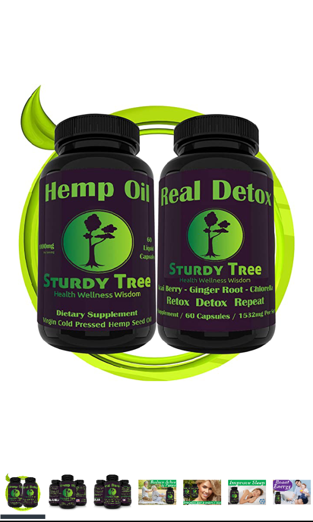 Sturdy Tree Healthy- Hemp Oil