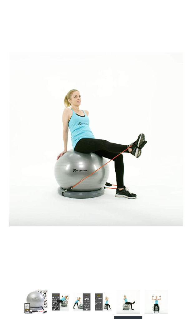 Home Exercise Ball - by Soalpha