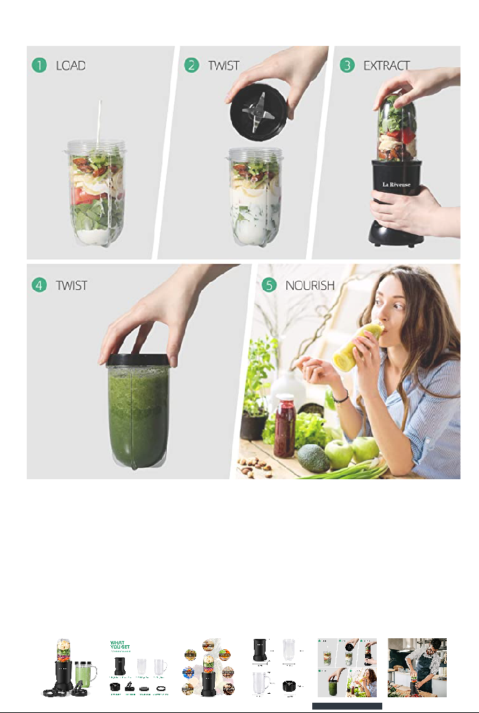 Blenders For Smoothies – Ninja  BL480 And La ReveuseReview.