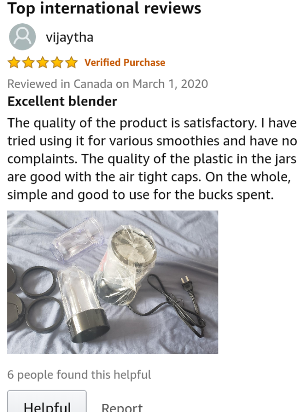Buyers review