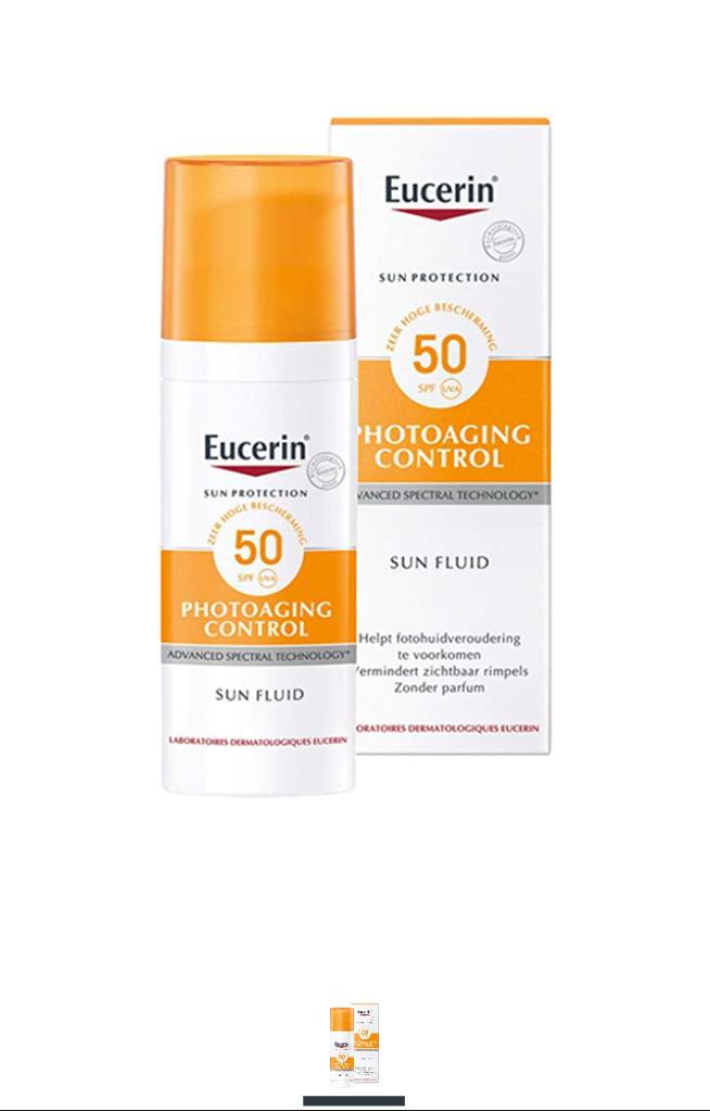 Eucerin  sun protection fluid
