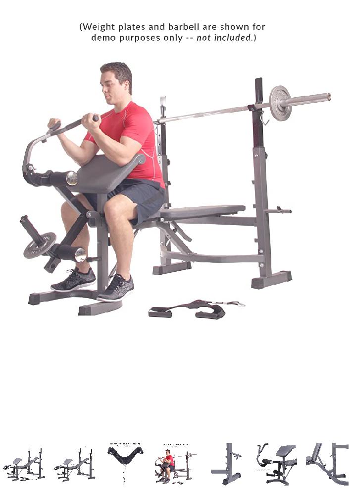 Body champ BCB5860 weight bench