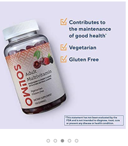image of Solimo adult multivitamin