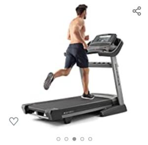 image of a man running on treadmill