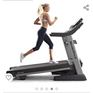 image of a woman running on treadmill