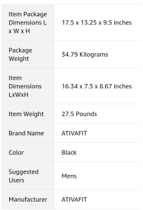 IMAGE OF ATIVAFIT ADJUSTABLE DUMBBELL OVERVIEW