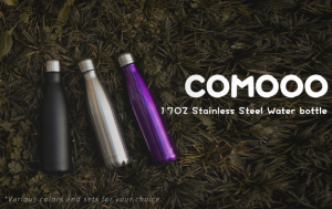 IMAGE OF COMOO THERMOS WATER BOTTLES